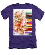 Colourful Leftovers Men's T-Shirt (Athletic Fit)