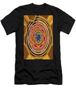 Columbia River Abstract #8045 Men's T-Shirt (Athletic Fit)