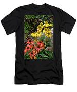 Cone Flowers Men's T-Shirt (Athletic Fit)