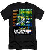 Contemporary Window To The World Men's T-Shirt (Athletic Fit)