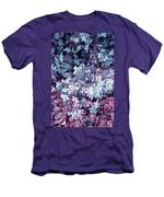 Cool Sunset Jasmine In Bloom Men's T-Shirt (Athletic Fit)
