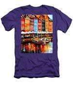 Copenhagen Denmark Men's T-Shirt (Athletic Fit)