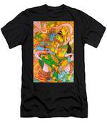 Cosmic Dance Of Krsna  Men's T-Shirt (Athletic Fit)