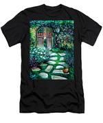 Cottage Gates Men's T-Shirt (Athletic Fit)
