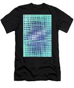 Cotton Field Abstract Men's T-Shirt (Athletic Fit)