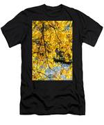 Cottonwood Tree Along The River Men's T-Shirt (Athletic Fit)