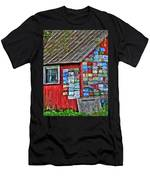 Country Graffiti Men's T-Shirt (Athletic Fit)