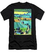 Country Lane Summer II Men's T-Shirt (Athletic Fit)
