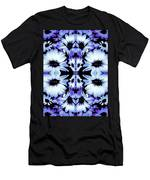 Crazy Lavender Daises Men's T-Shirt (Athletic Fit)
