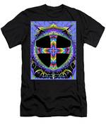 Cross Of One Way To God Men's T-Shirt (Athletic Fit)