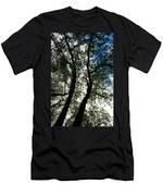 Curvy Trees Men's T-Shirt (Athletic Fit)