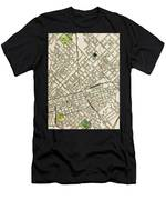 Dallas Texas Map 1899 Men's T-Shirt (Athletic Fit)