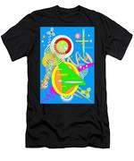 Dancing Spirals 2 Men's T-Shirt (Athletic Fit)