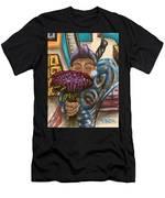 Dangerous Flowers Men's T-Shirt (Athletic Fit)