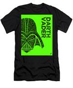 Darth Vader - Star Wars Art - Green Men's T-Shirt (Athletic Fit)