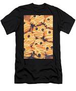 Decorated Shortbread Mummy Cookies Men's T-Shirt (Athletic Fit)