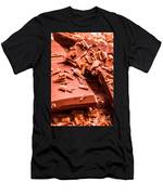 Delicious Bars And Chocolate Chips  Men's T-Shirt (Athletic Fit)