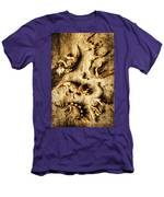 Dinosaurs In A Bone Display Men's T-Shirt (Athletic Fit)