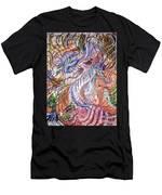 Dizzy Feathers Men's T-Shirt (Athletic Fit)