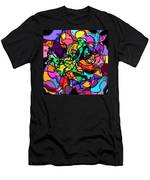 Dolphin Kaleidoscope Men's T-Shirt (Athletic Fit)
