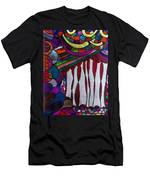 Doodle Page 6 - Bones And Curtains - Ink Abstract Men's T-Shirt (Athletic Fit)