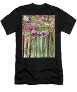 Dragonfly Bloomies 1 - Pink Men's T-Shirt (Athletic Fit)
