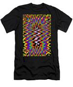 Drawing Abstract # 8455wtr Men's T-Shirt (Athletic Fit)