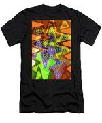 Drawing Color Squares Abstract Men's T-Shirt (Athletic Fit)