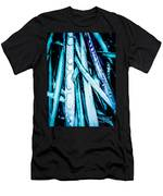 Dripping Teal Men's T-Shirt (Athletic Fit)