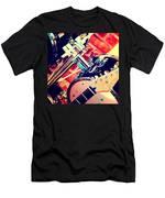 Drum Set Men's T-Shirt (Athletic Fit)