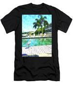 Dry Dock Bird Walk Men's T-Shirt (Athletic Fit)
