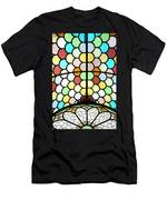 Dublin Art Deco Stained Glass Men's T-Shirt (Athletic Fit)