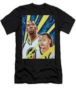 Dynamic Duo - Durant And Curry Men's T-Shirt (Athletic Fit)