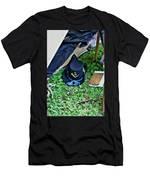 E Company Black Hat Men's T-Shirt (Athletic Fit)