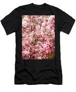 Earth Tones Apple Blossoms  Men's T-Shirt (Athletic Fit)