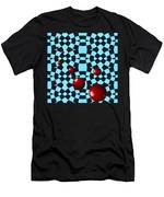 Eight Red Balls Men's T-Shirt (Athletic Fit)