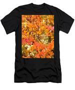 Elegant  Autumn Men's T-Shirt (Athletic Fit)