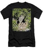 Elephant Head ...  Men's T-Shirt (Athletic Fit)