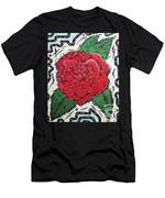 Every Rose Has Its Thorns Men's T-Shirt (Athletic Fit)