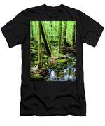 Evolution Of A Forest In Spring  Men's T-Shirt (Athletic Fit)