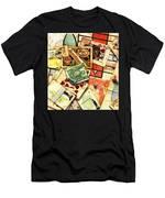 Exit Strategy Men's T-Shirt (Athletic Fit)