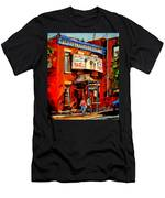 Fairmount Bagel Montreal Men's T-Shirt (Athletic Fit)