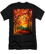 Farewell To Autumn Men's T-Shirt (Athletic Fit)