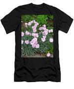 Feathered Pink Men's T-Shirt (Athletic Fit)