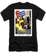 February Fiestas In Havana - Woman Dancing At Carnaval - Retro Travel Poster - Vintage Poster Men's T-Shirt (Athletic Fit)