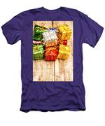 Festive Greeting Gifts Men's T-Shirt (Athletic Fit)