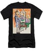 Figure Illustation Class Men's T-Shirt (Athletic Fit)