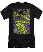 Fine Wine Cafe Colorful Garden Men's T-Shirt (Athletic Fit)