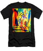 Fire And Gold Men's T-Shirt (Athletic Fit)