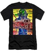 Fire And Water Men's T-Shirt (Athletic Fit)